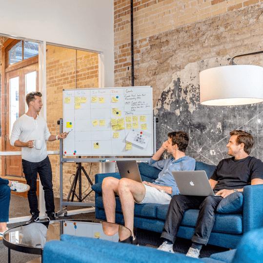 website planing meeting