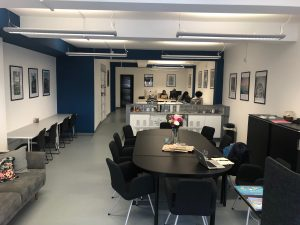 co-working space at hub 109 in birmingham