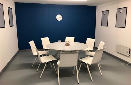 meeting room at hub 109 in erdington