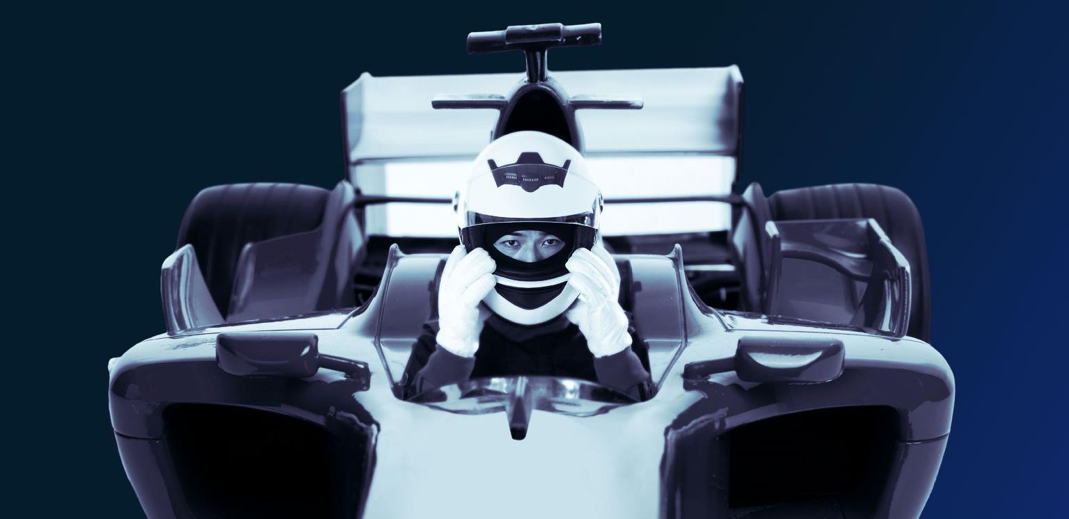 Hub 109 formula car